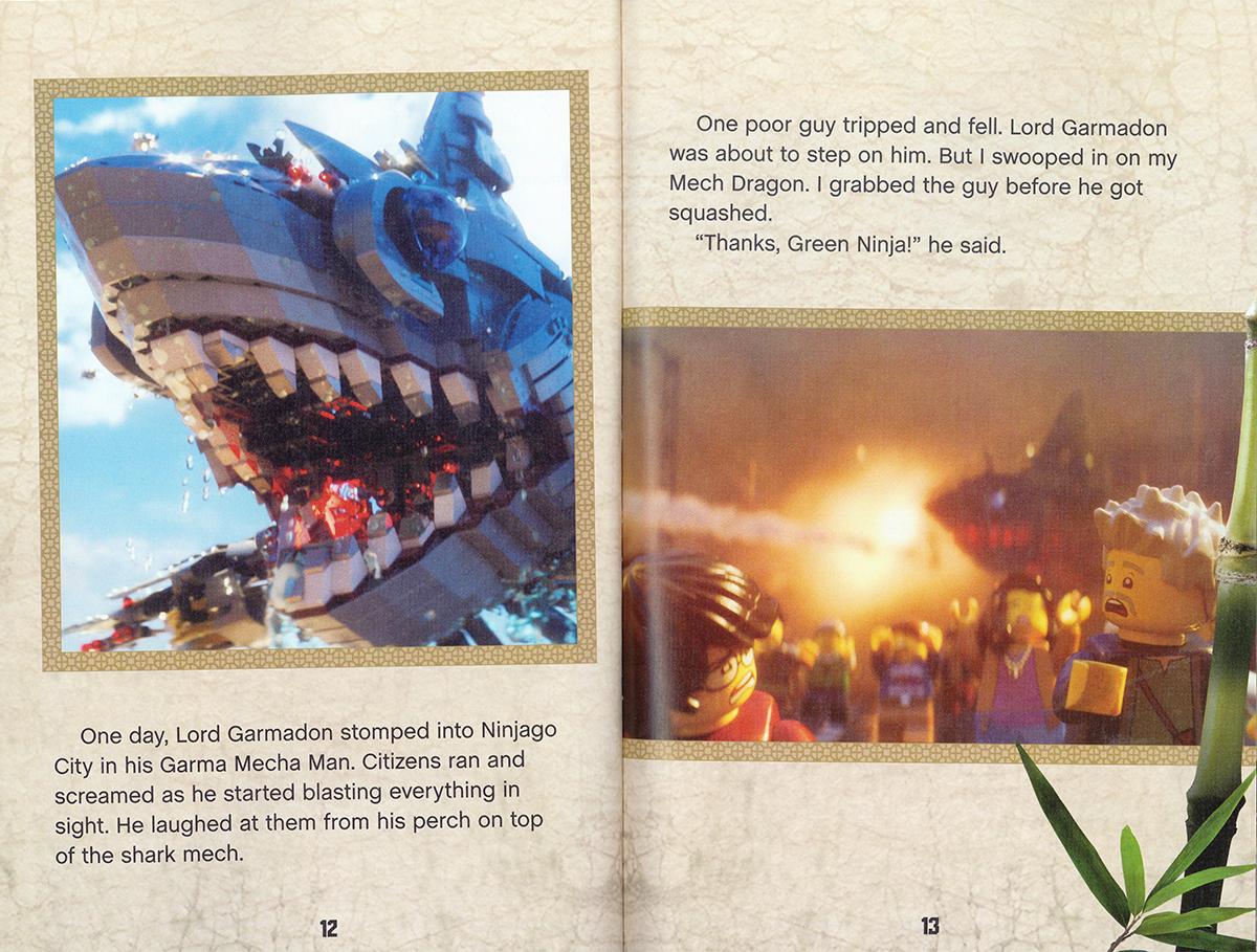 Scholastic Canada  Lloyd A Heros Journey The Lego