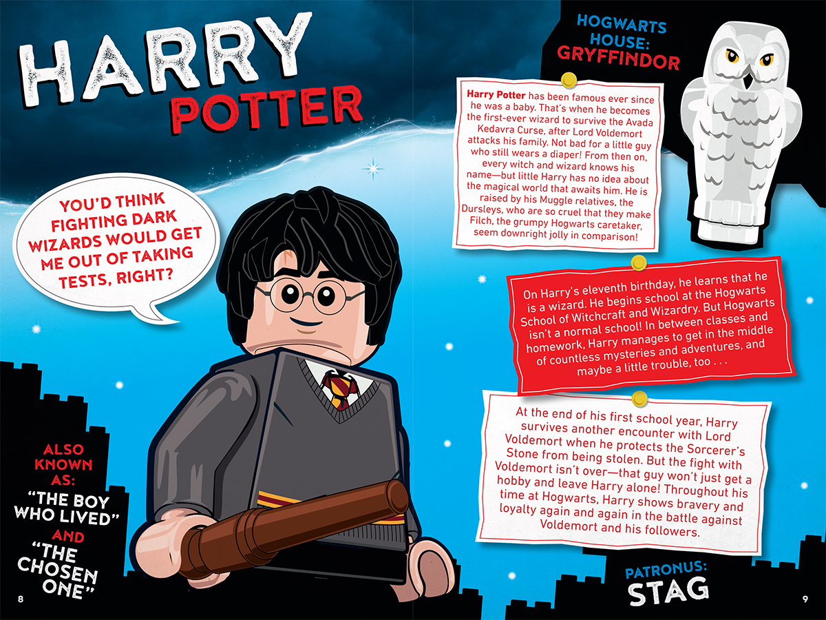 Witches And Wizards Character Handbook Lego Harry Potter