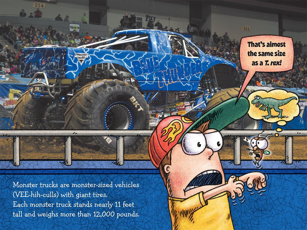 Fly Guy Presents Monster Trucks Scholastic Reader Level