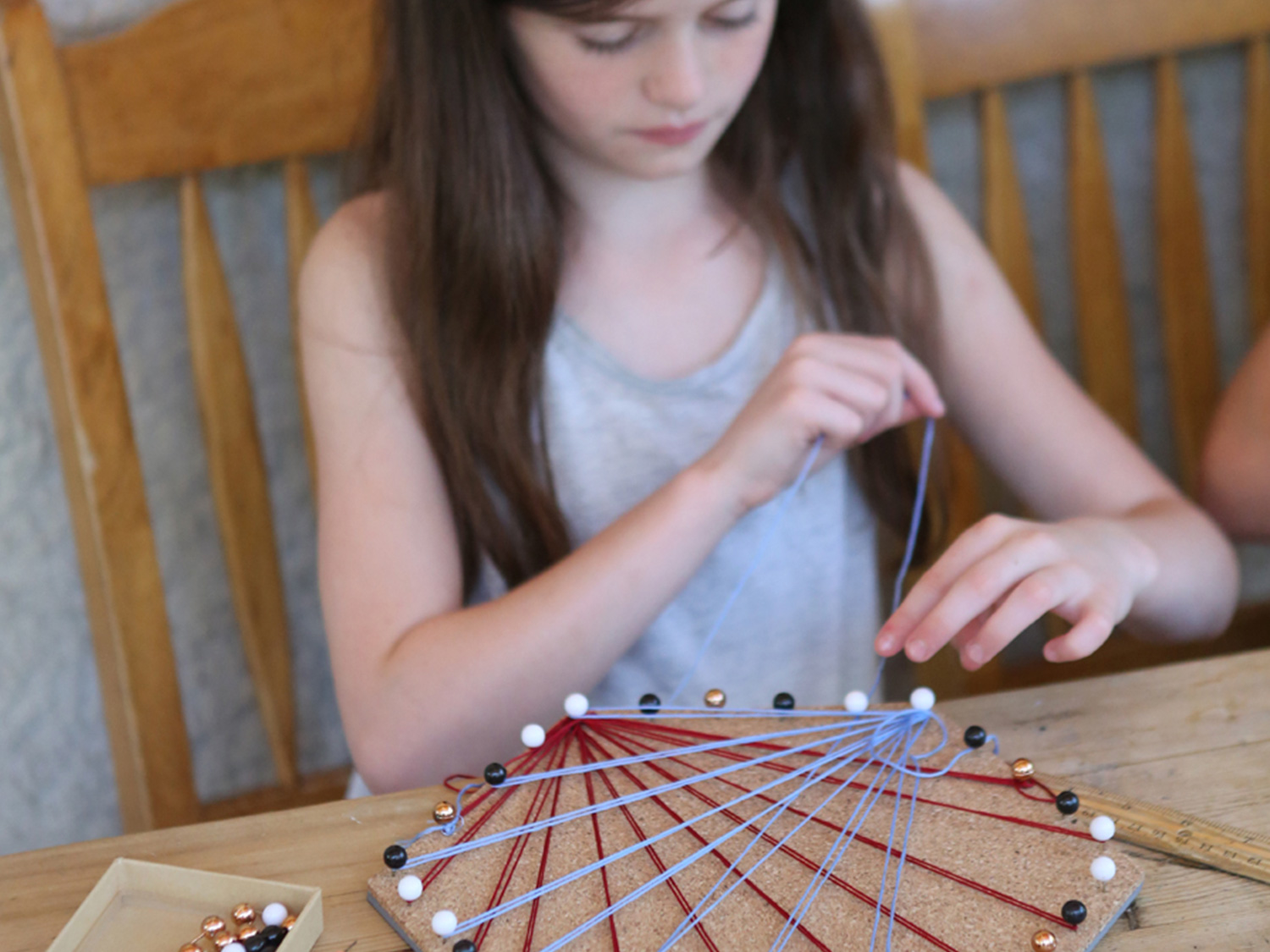 How To Craft Cool String Art With Kids