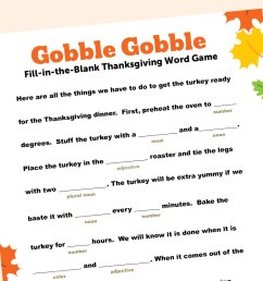 Thanksgiving-Themed Word Game   Scholastic   Parents [ 1125 x 1500 Pixel ]