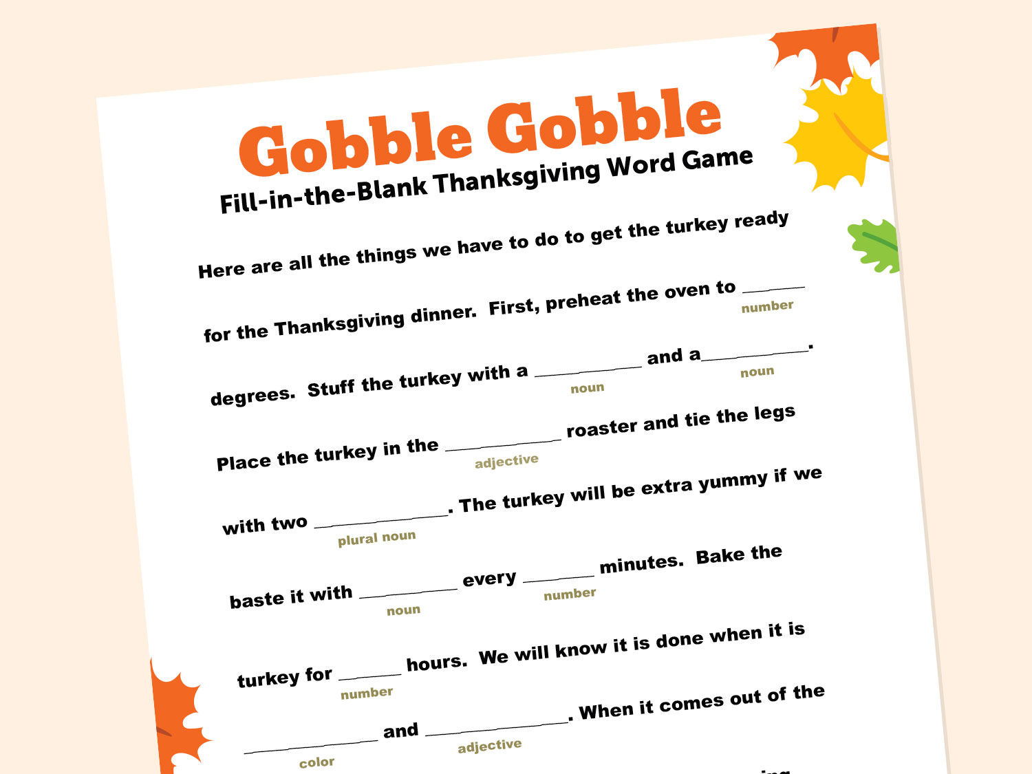hight resolution of Thanksgiving-Themed Word Game   Scholastic   Parents