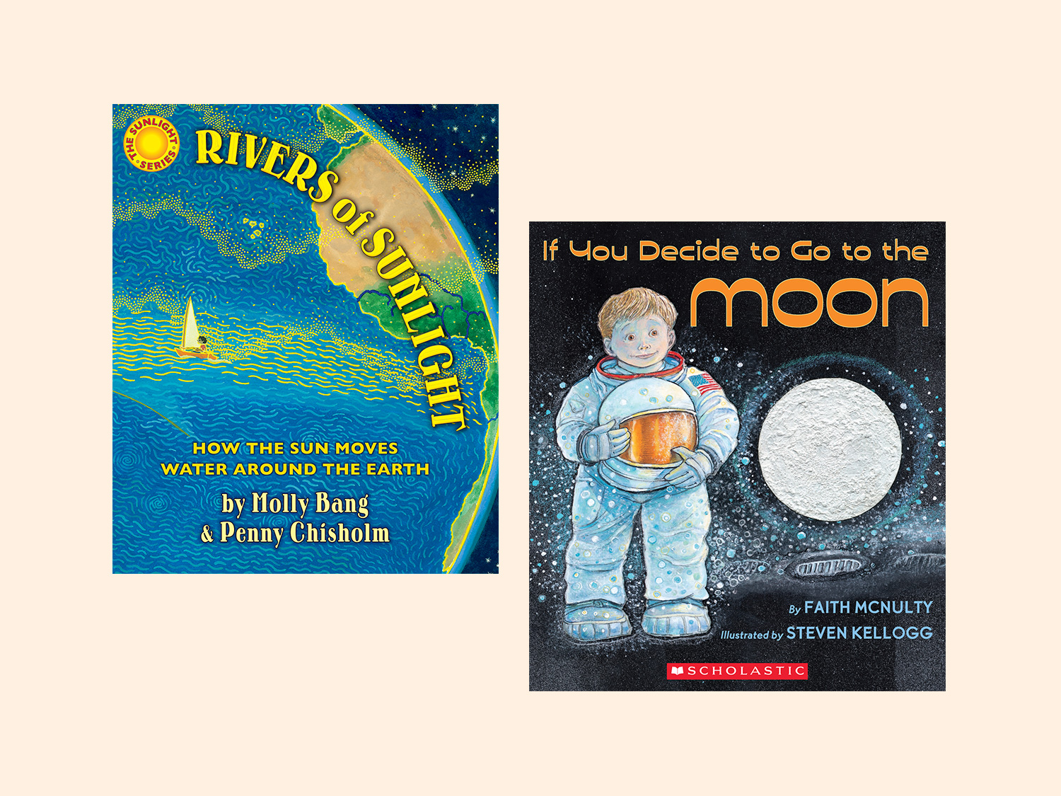 8 Picture Books About The Sun Moon And Stars