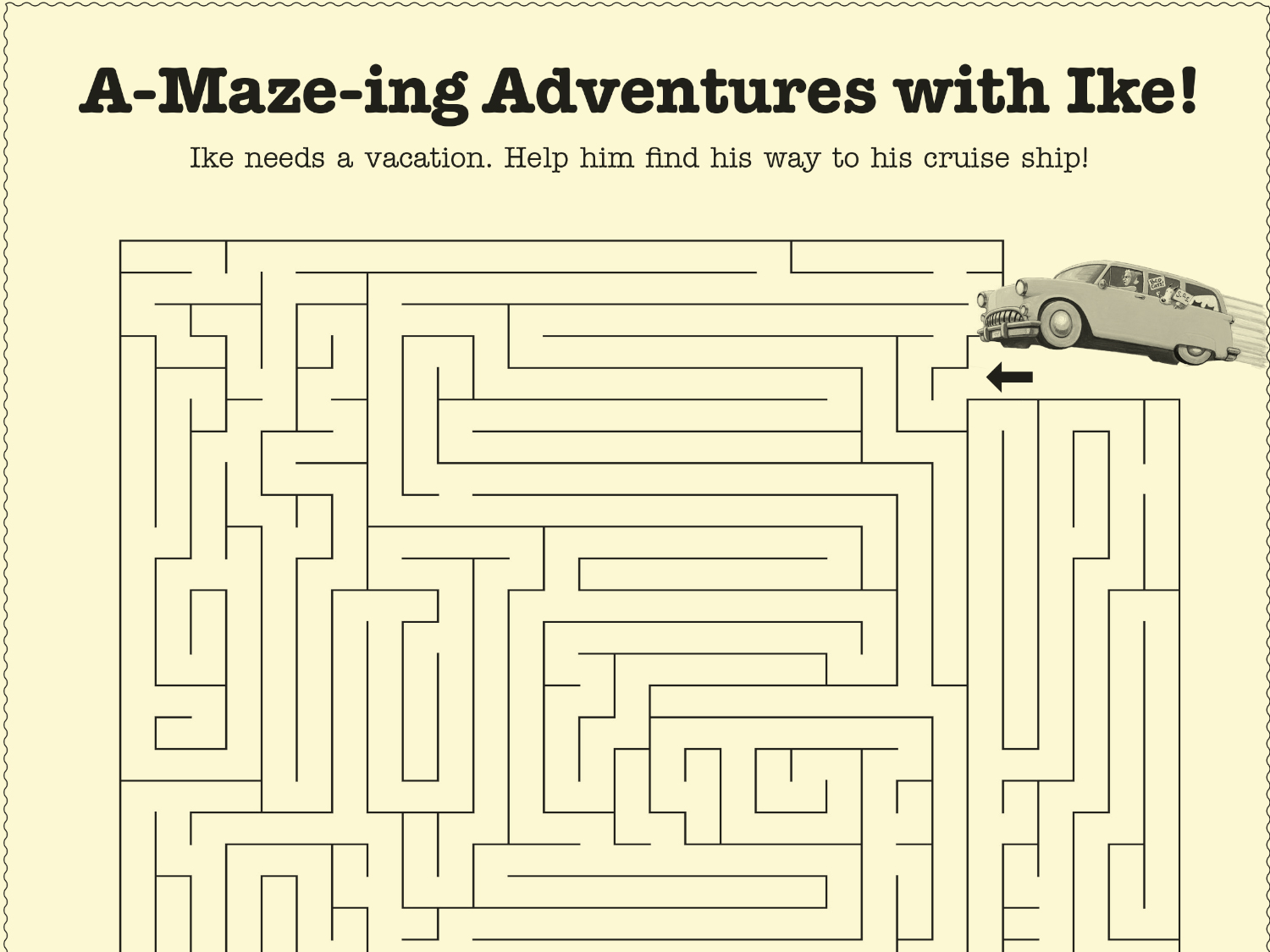 A Maze Ing Adventures With Ike