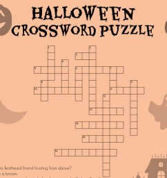 Halloween Crossword   Worksheets \u0026 Printables   Scholastic   Parents [ 1125 x 1500 Pixel ]