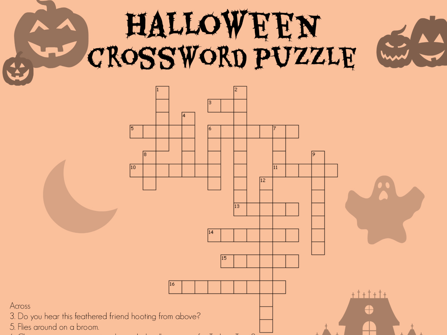 hight resolution of Halloween Crossword   Worksheets \u0026 Printables   Scholastic   Parents