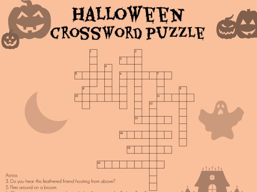 small resolution of Halloween Crossword   Worksheets \u0026 Printables   Scholastic   Parents