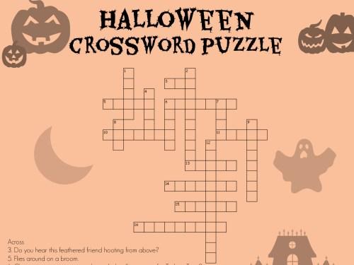 small resolution of Halloween Crossword   Worksheets \u0026 Printables   Scholastic   Parents
