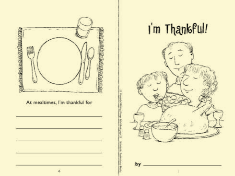 Minibook I M Thankful