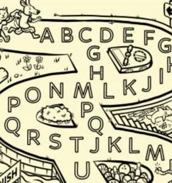 A Silly Alphabet Maze Worksheet Printable   Worksheets \u0026 Printables    Scholastic   Parents [ 1125 x 1500 Pixel ]