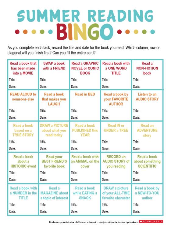 use book bingo to