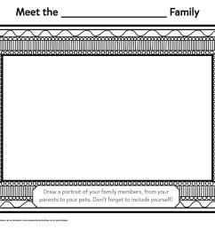 Draw Your Family Portrait   Worksheets \u0026 Printables   Scholastic   Parents [ 2550 x 3300 Pixel ]
