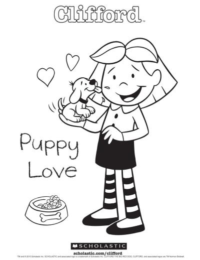 clifford s puppy love