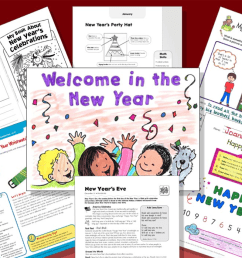 7 Printables to Spark New Year's Resolutions [ 698 x 1240 Pixel ]
