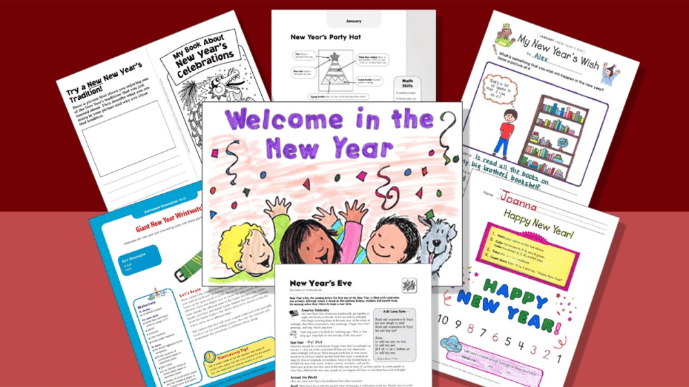 medium resolution of 7 Printables to Spark New Year's Resolutions