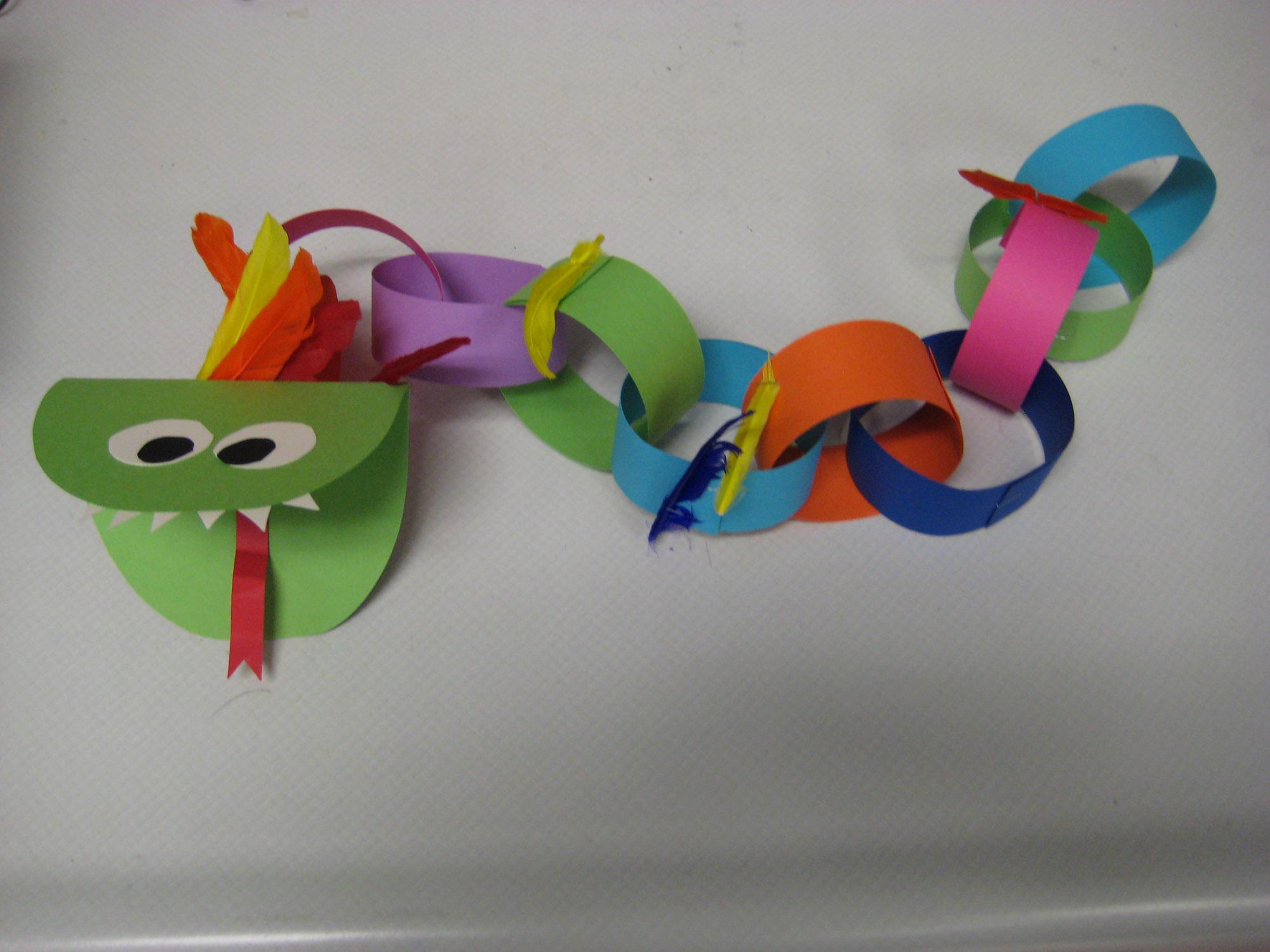 Lunar New Year Dragon Craft Project