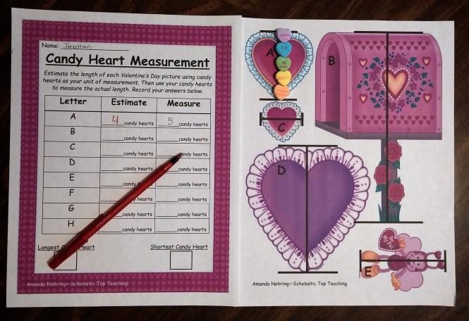Valentine Letter Using Math Terms  Valentine Gift
