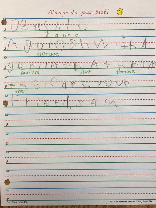 small resolution of Teaching Letter-Writing Skills With Santa   Scholastic