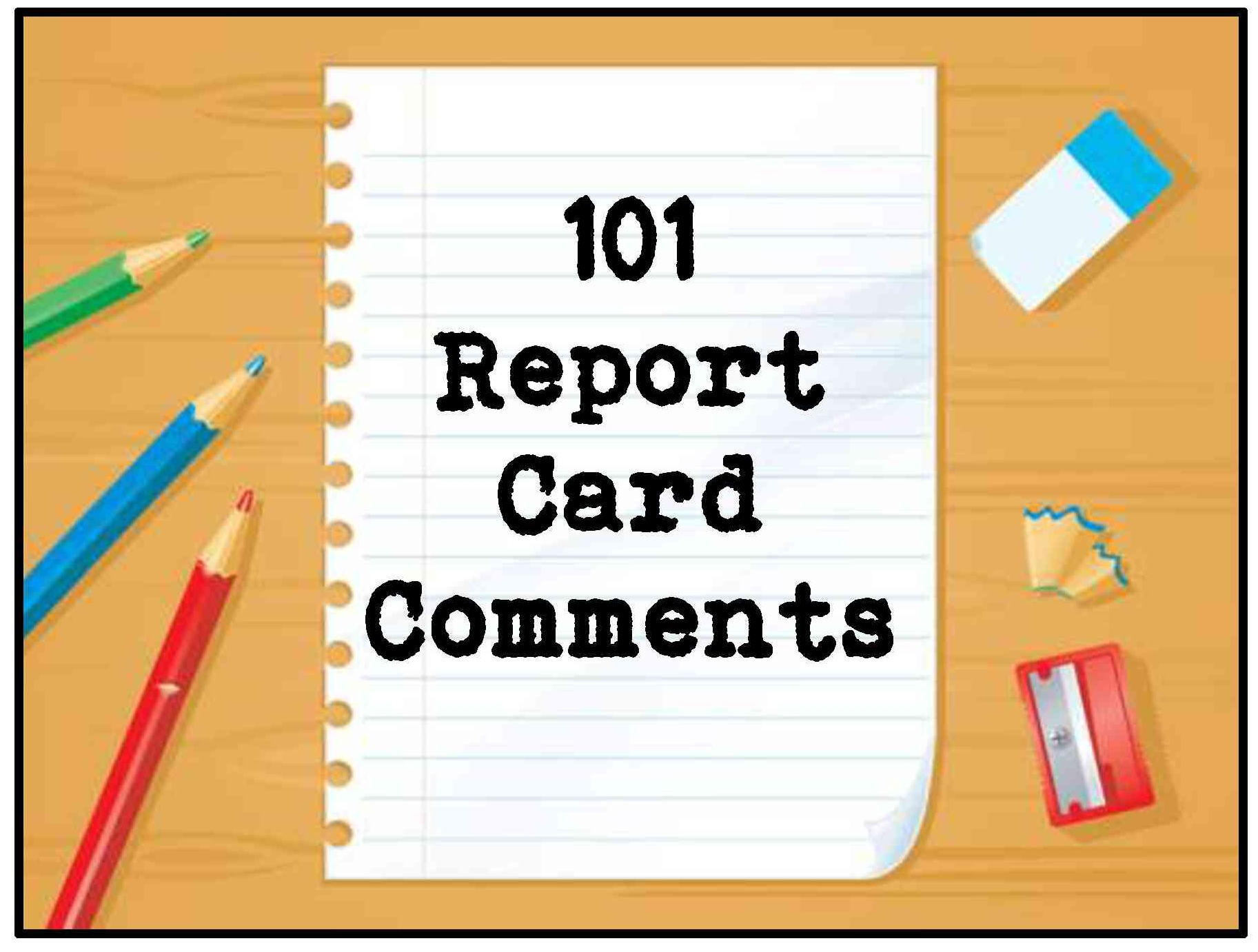Report Card Comments And Parent Conferences Made Easy