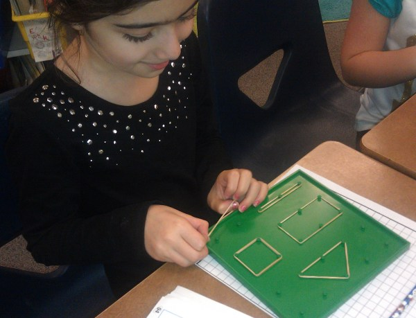 Hands- Strategies Teaching Area And Perimeter