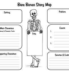 Crafty Symmetric Skeletons   Scholastic [ 2550 x 3300 Pixel ]