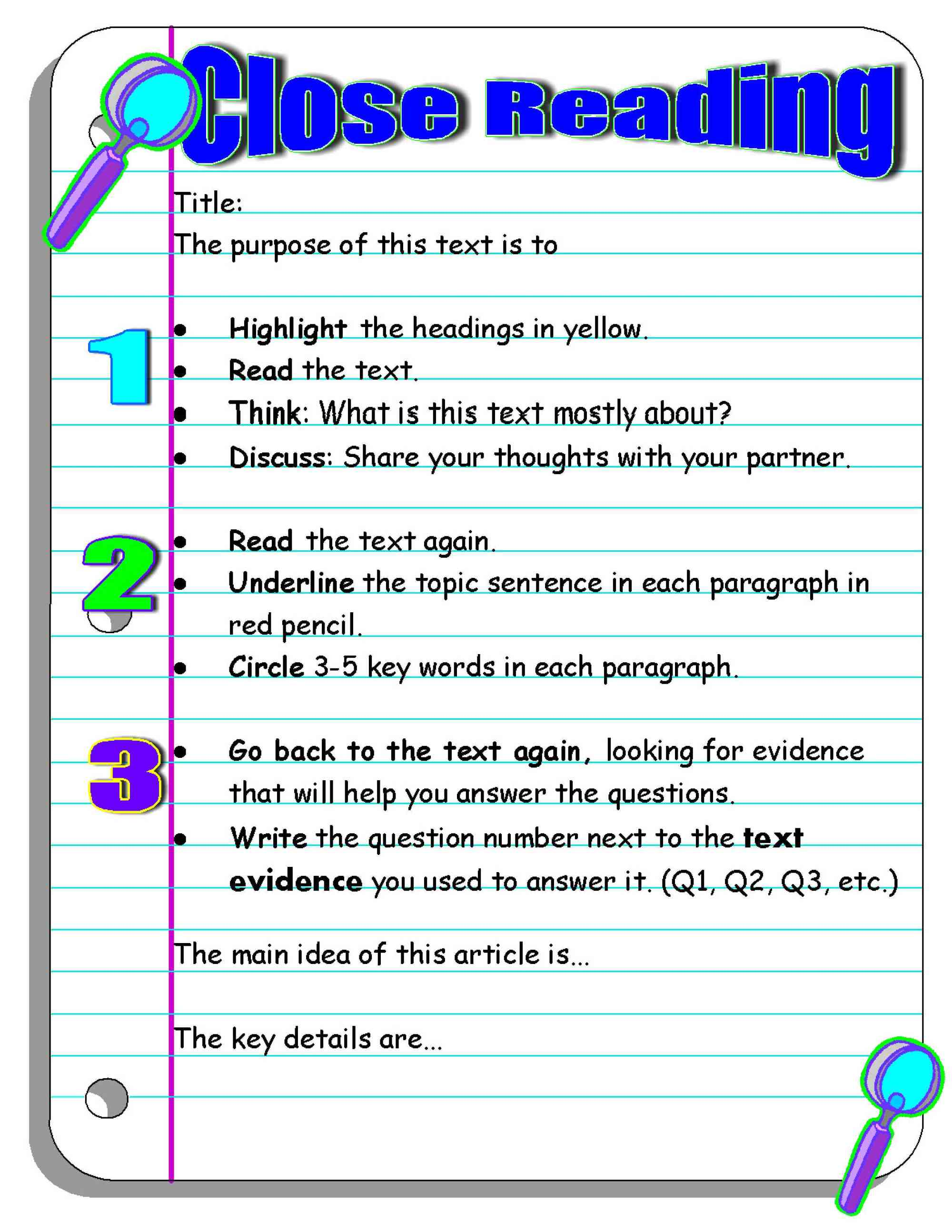 hight resolution of Investigating Nonfiction Part 2: Digging Deeper With Close Reading    Scholastic