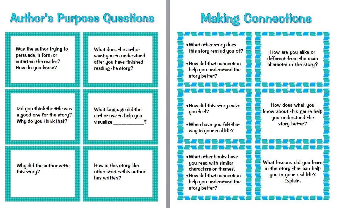 hight resolution of Guided Reading Prompts and Questions to Improve Comprehension   Scholastic