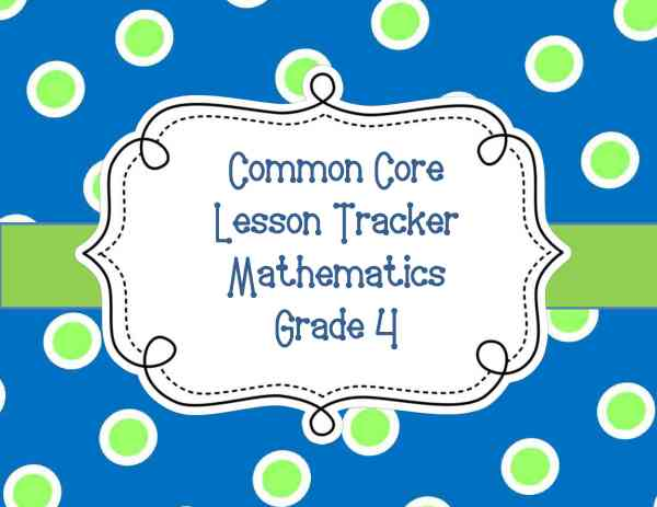 Common Core Lesson Plan Organizers Math And Ela
