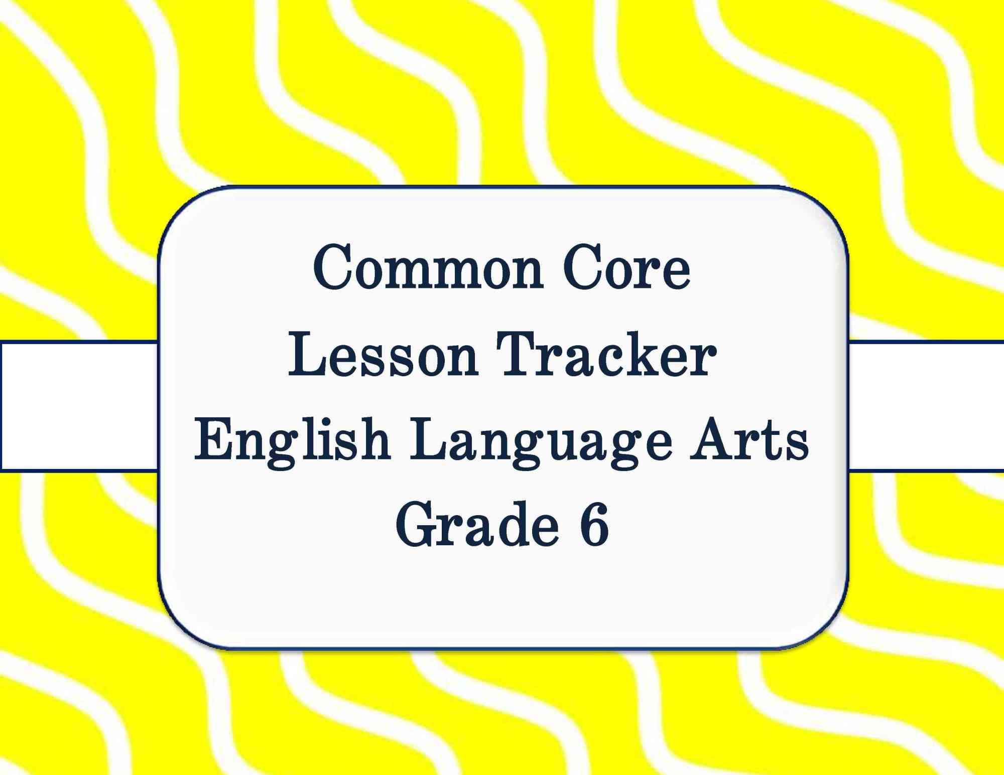 hight resolution of Common Core Math and ELA Lesson Plan Organizers for the Middle Grades    Scholastic