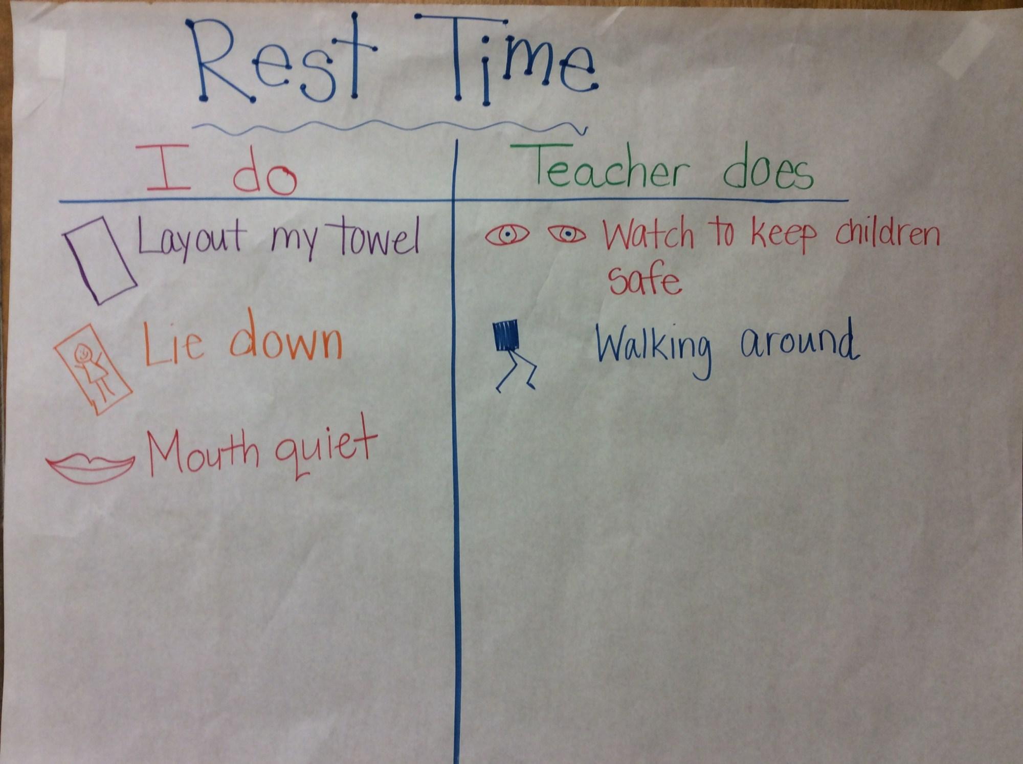 hight resolution of kindergarten rest time carpet expecations