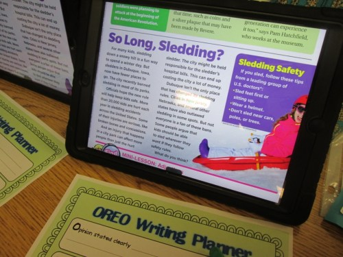 small resolution of Graphic Organizers for Opinion Writing   Scholastic