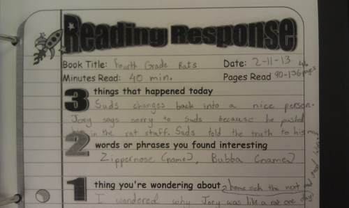 small resolution of Five Minute Reading Responses   Scholastic