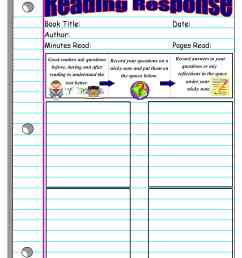 Reading Response Forms and Graphic Organizers   Scholastic [ 3300 x 2550 Pixel ]