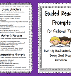 Guided Reading Prompts and Questions to Improve Comprehension   Scholastic [ 807 x 1043 Pixel ]