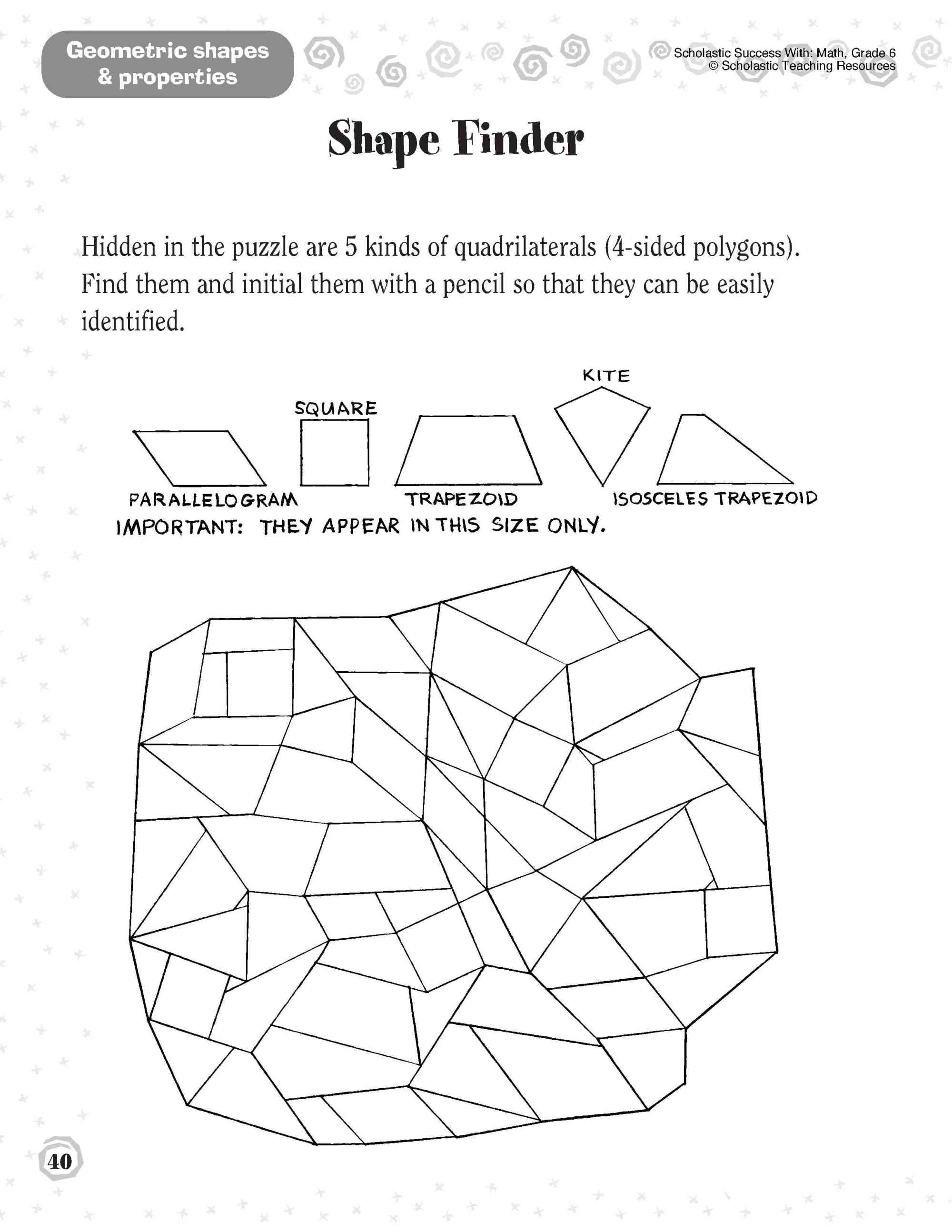 hight resolution of Five Ways to Make Geometry Memorable   Scholastic