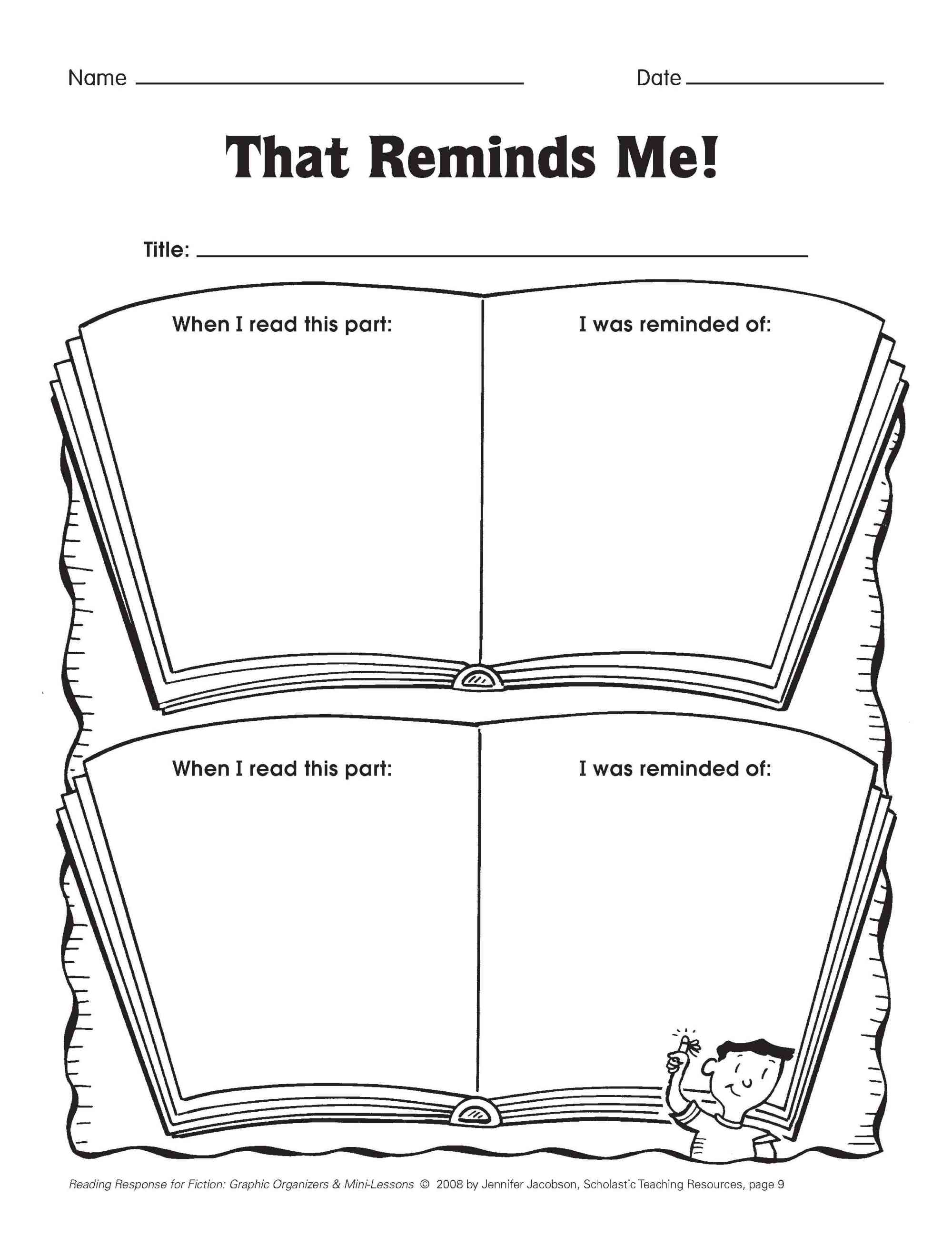 hight resolution of Five Minute Reading Responses   Scholastic