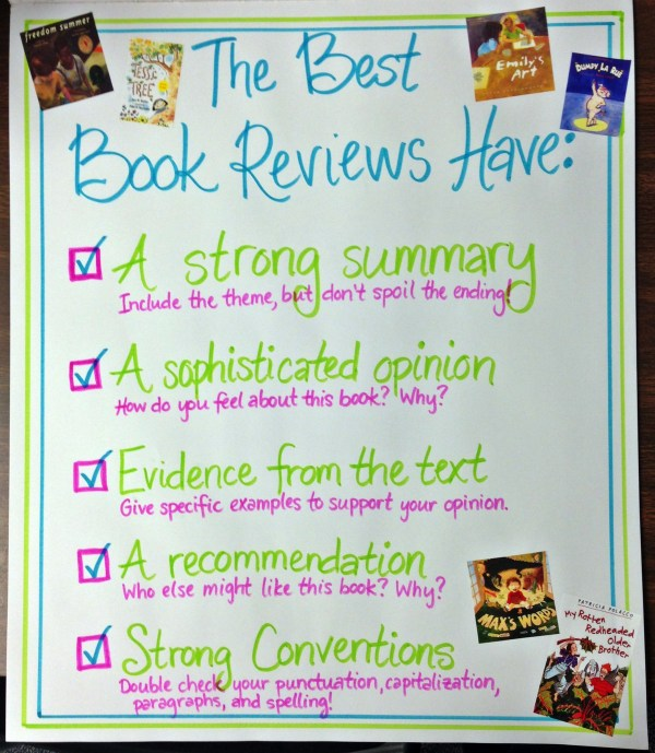 Student Book Review Posters