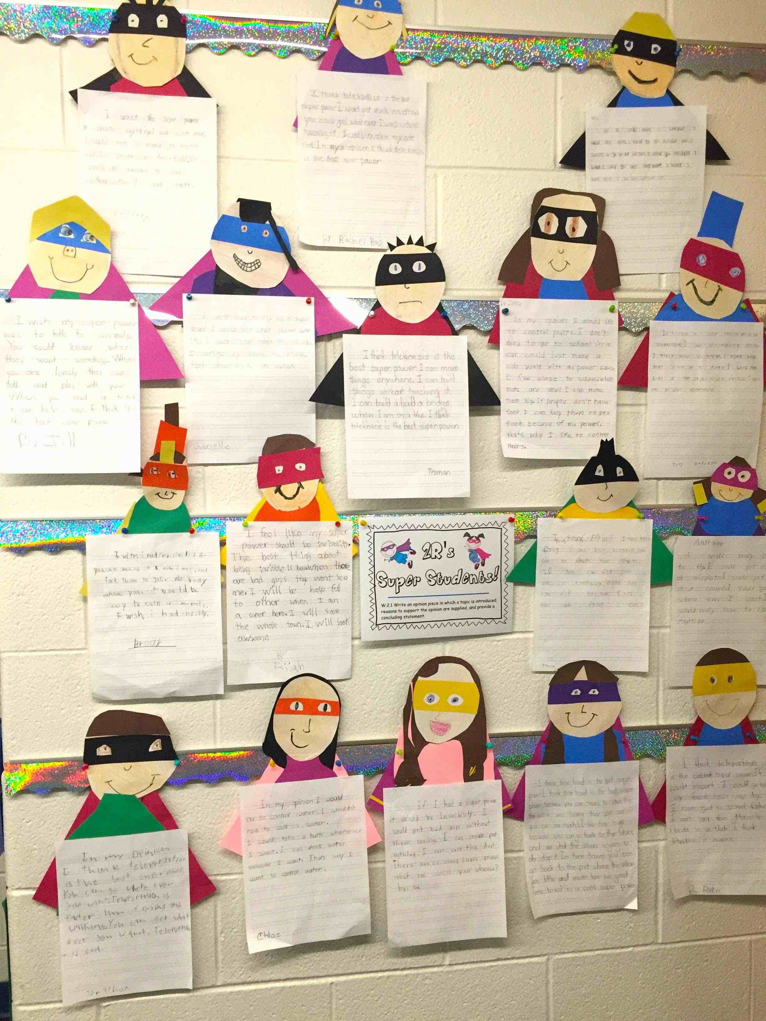 Superheroes Make For Amazing Class Activities