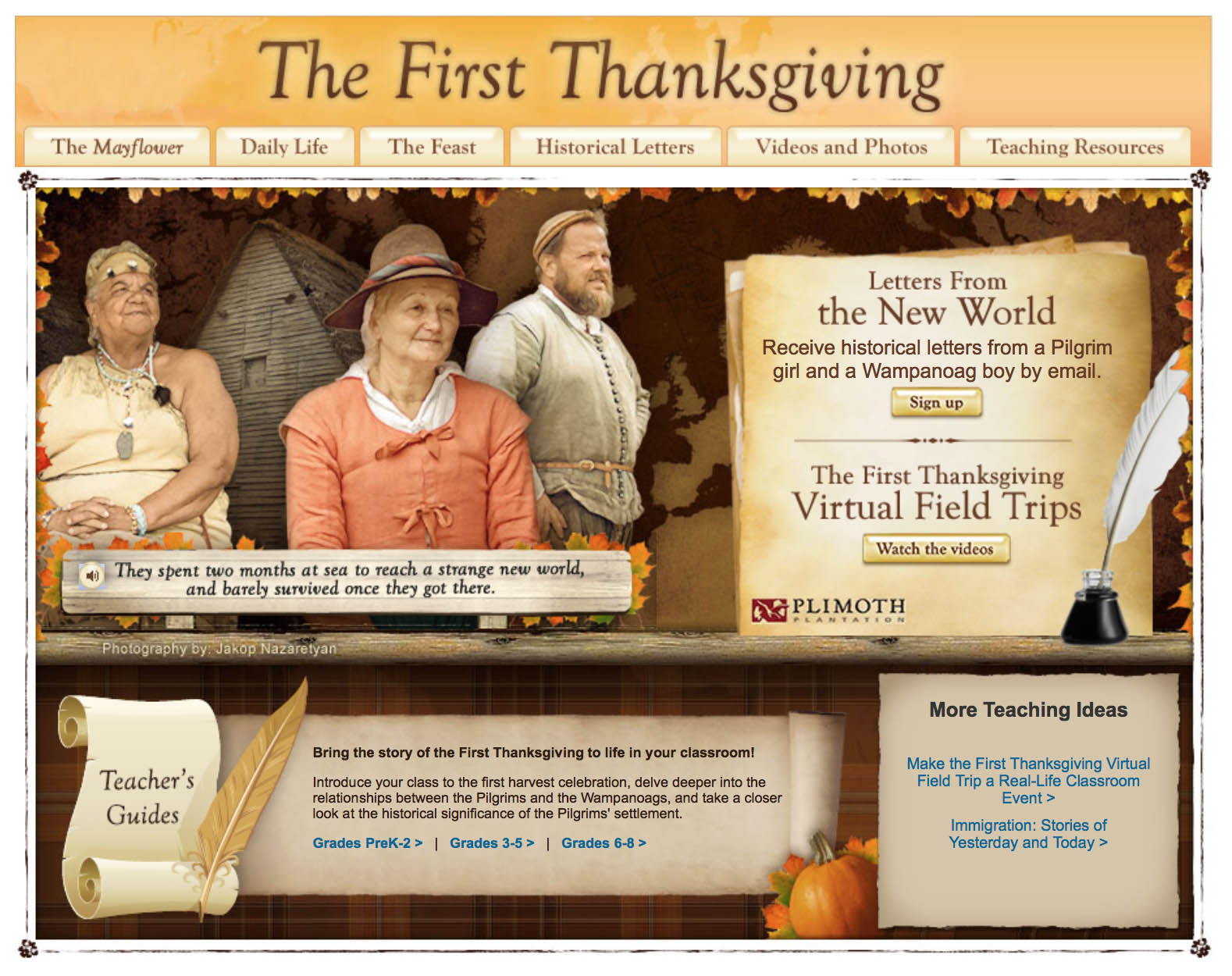 November Free Resources From The Election To Thanksgiving