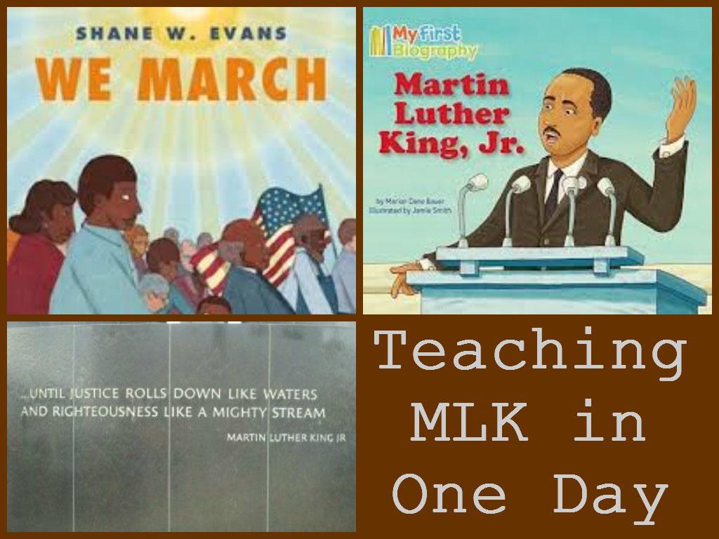 Teaching Mlk In One Day