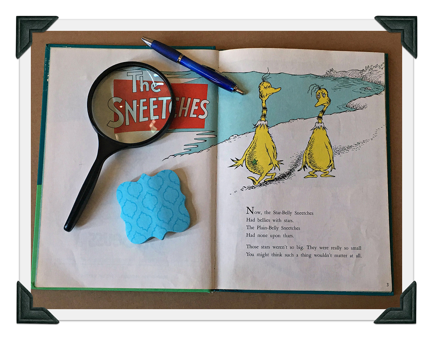 Close Reading Using The Sneetches