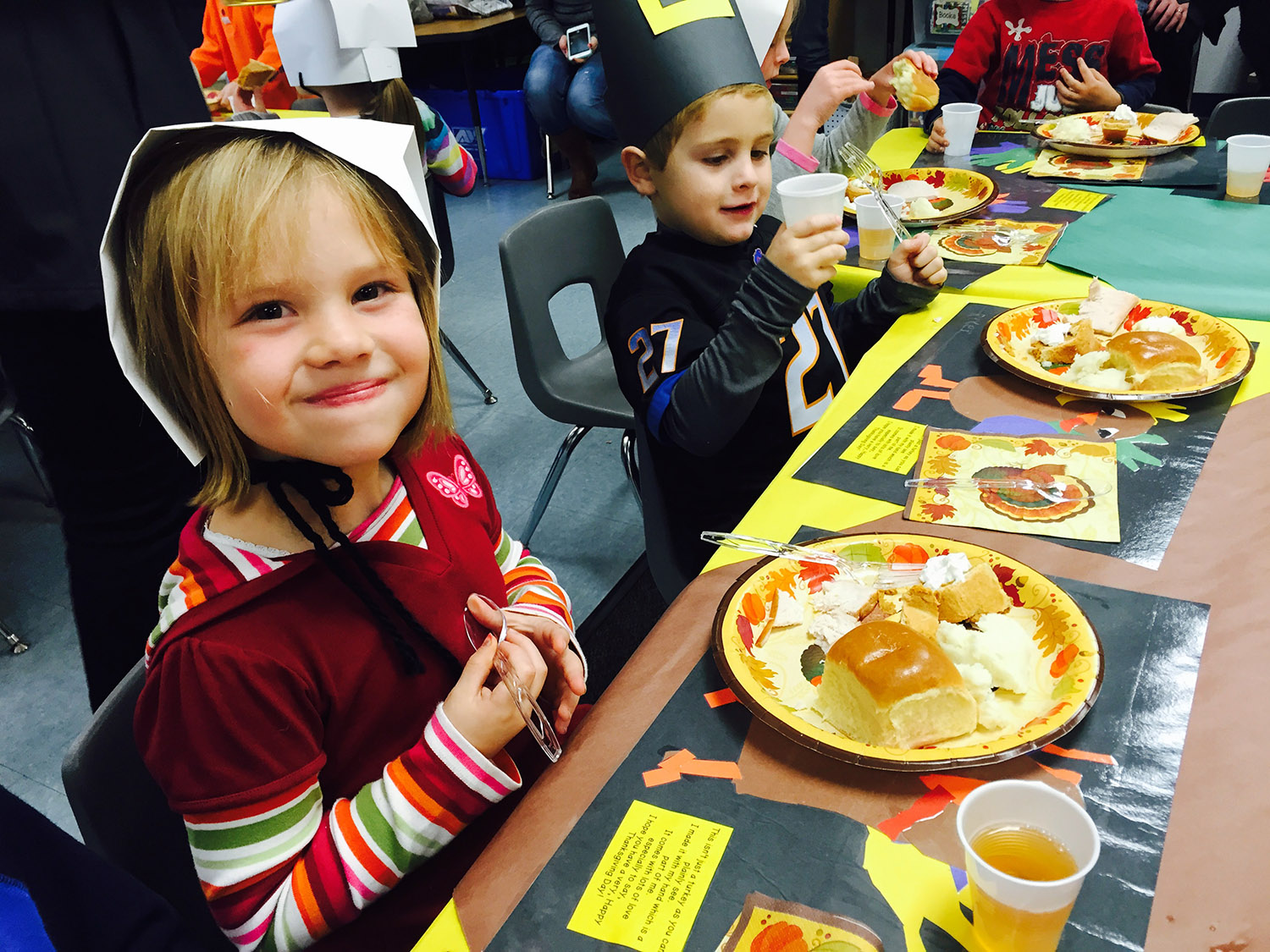 Thanksgiving Fun In The Classroom