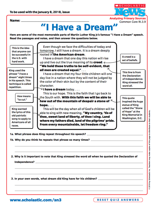 small resolution of 5 Ways to Celebrate Dr. Martin Luther King Jr.   Scholastic