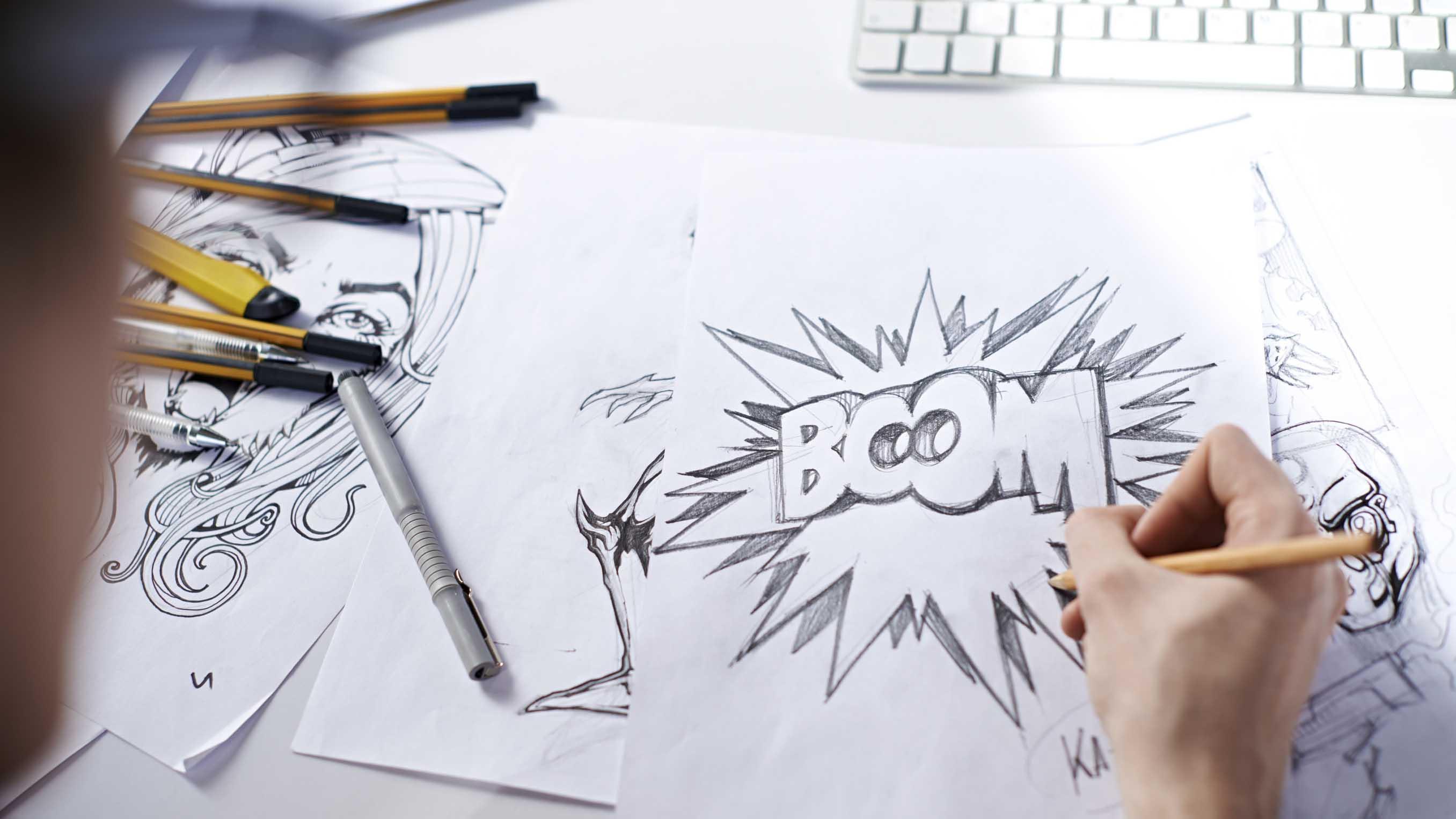 Comic Strip Creations Lesson Plan