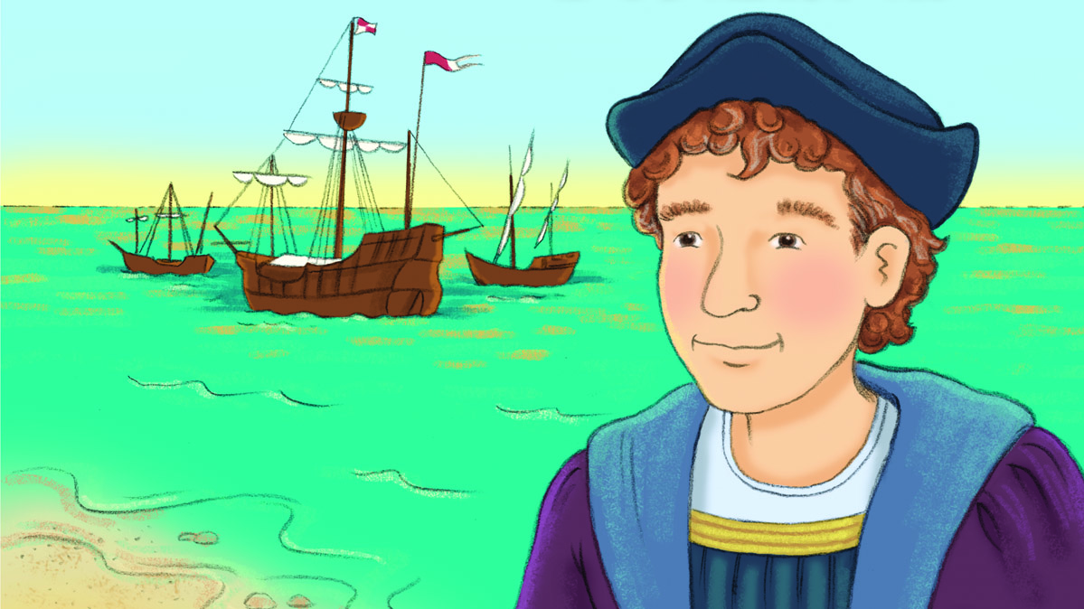 hight resolution of My First Biography: Christopher Columbus Teaching Guide   Scholastic