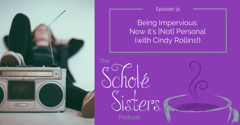 SS #31: Being Impervious: Now it's [Not] Personal (with Cindy Rollins!)
