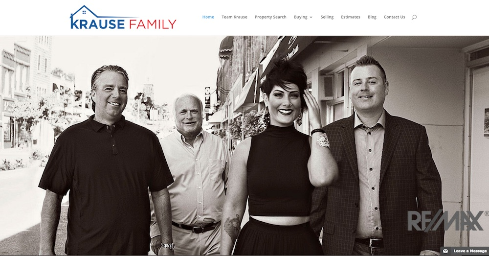 Krause Family Real Estate – New Website