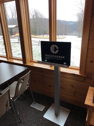 MAXXCHARGE has added a new location – Caledon Ski Club!