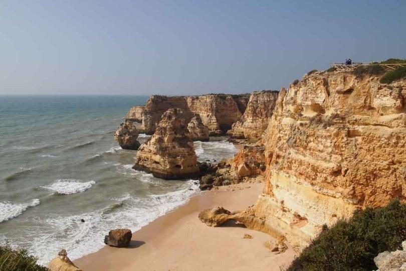 Praia do Benagil an der Algarve - Portugal