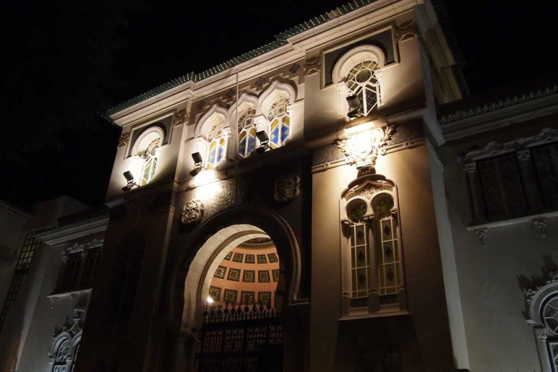Museu Municipal de Faro in Portugal bei Nacht